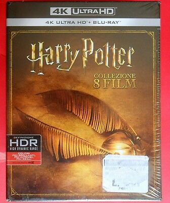 harry potter rare box set 16 disc set blu ray + 4k complete collection radcliffe
