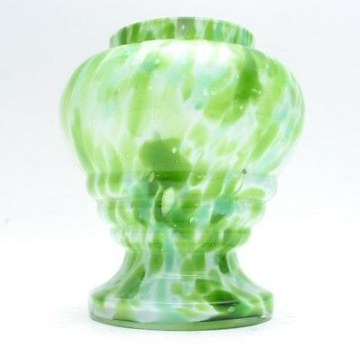 Stunning Art Deco Bohemian Cased Art Glass Vase Franz Welz
