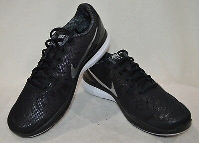 buy popular d3bbd 480bf Nike In-Season TR 7 Black Metallic Silver Women s Training Shoes-Asst Sizes