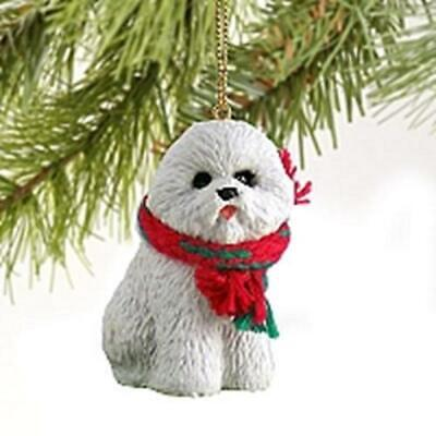 Bichon Frise Christmas Tree Figurine Decoration/Ornament Bauble Gift/Present