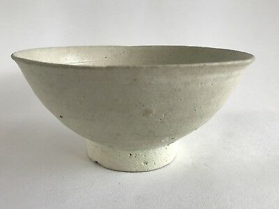 Chinese Southern Song Yuan Dynasty White Bowl 13th Century Fujian Kiln