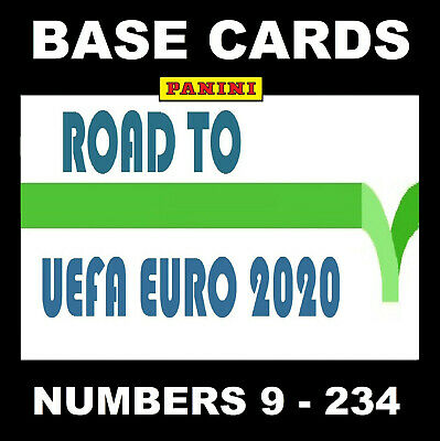 Panini Adrenalyn ROAD TO EURO 2020 TEAM MATE base cards