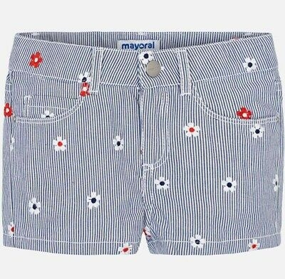 New Girls Mayoral Embroidered Shorts , Age 2 Years , (3205)