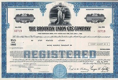 The Brooklyn Union Gas Company, 9 3/4% First Mortgage Bond, 1975 (100.000 $)
