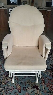 Habebe Glider Rocking Nursing Recliner Maternity Chair  ***WASHABLE COVERS***