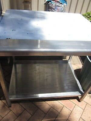 Solid  Commercial Stainless Steel Bench
