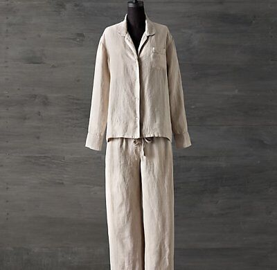 NEW AUTH RESTORATION Hardware Womens Cashmere Spa Robe M Grn