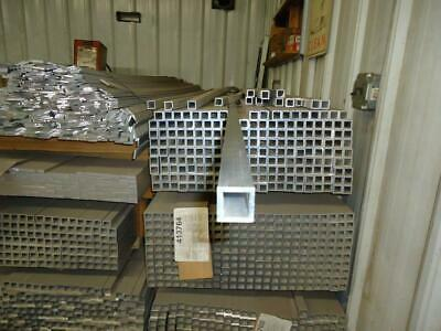 """1"""" x 1' x 48"""" x 0.125"""" wall 6005-T5 Extruded Aluminum Square Tube"""