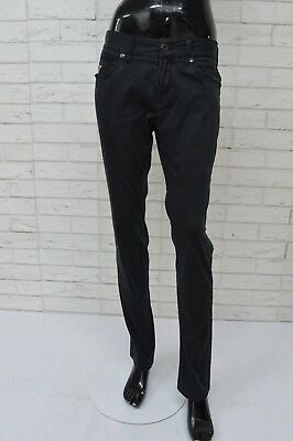 Pantalone Donna GUESS LOS ANGELES Brit Rocker Taglia 30 Jeans Slim Fit Elastico