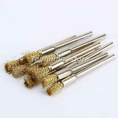 3mm Wire Wheel Brush Compatible & Power Die Grinder Rotary Tool 10Pcs