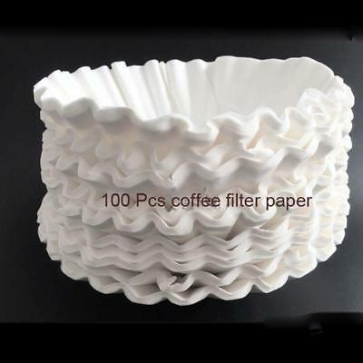 100 Pcs Coffee Filter Paper for American Coffee Machine RH 330 Bowl Filter Paper