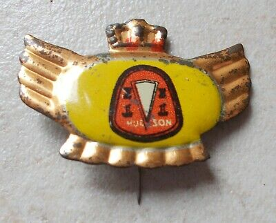 Badge emblème Vintage Pins Auto Automobile HUDSON UK 1960's