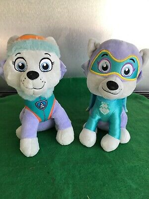 "Official 12"" paw patrol pup plush soft toy Nickelodeon Dog teddy Everest Bundle"