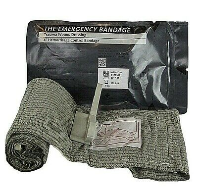 "PerSys Medical 4"" Israeli Emergency Trauma Bandage Exp 2021-2025"