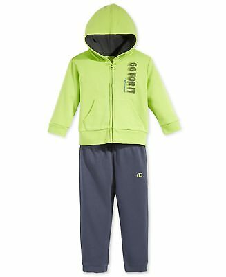 1fb69f0071ad CHAMPION BABY BOYS 2-Pc. Play By Play Hoodie   Pants Set (Avesome ...