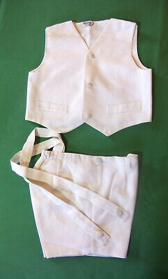 Set Ceremony Small Boy Waistcoat and Panties
