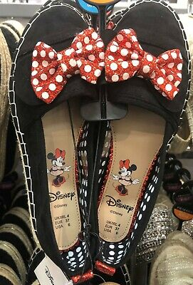 Brand New With Tags Primark Women's Disney Minnie Mouse Espadrilles Pumps