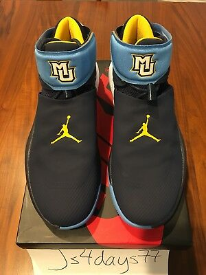 bf81acf7f250 New Jordan Why Not Marquette University Promo Sample 10.5 Authentic PE  Exclusive