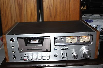 Aiwa Stereo Cassette Deck Ad 6350