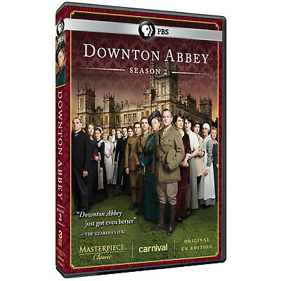 Masterpiece: Downton Abbey Season 2 (DVD, 2012, 3-Disc Set)