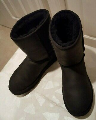 49ca21be322 UGG AUSTRALIA 1012360 Cedric Water Resistant Lined Boot Black - 8 ...