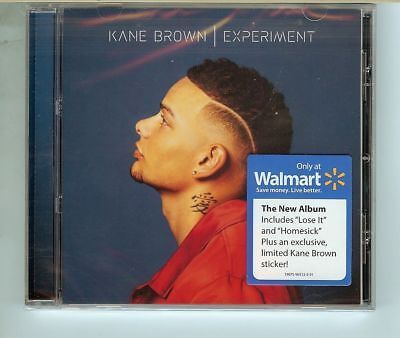 KANE BROWN Experiment CD  new Walmart Exclusive sticker IN HAND see descrition