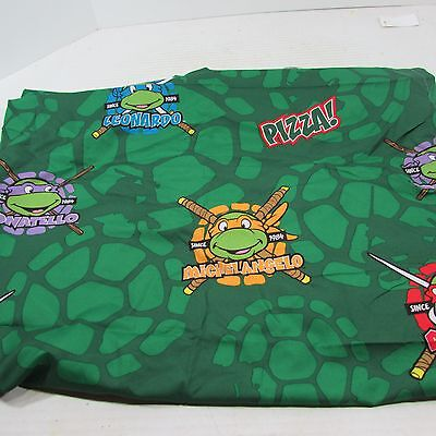 Teenage Mutant Ninja Turtles Toddler Bed Sheet flat nickelodeon