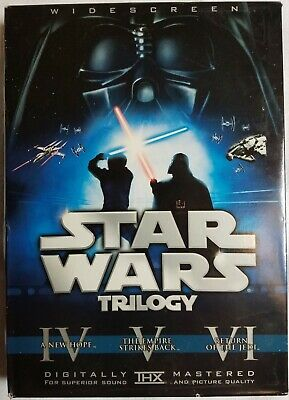 Star Wars Trilogy (Widescreen Theatrical Edition) LIMITED Theatrical 6-Disc