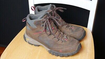 be642731572 VASQUE MENS TALUS Trek Mid UltraDry Brown Leather Athletic Hiking Boots  Size 9.5