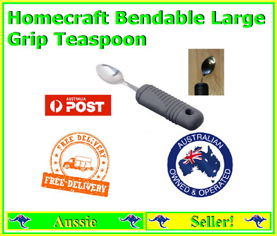 Homecraft bendable teaspoon Large Grip Daily Living Stainless Steel