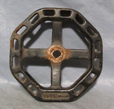 Vintage Industrial Machine Age Water Valve Handle Steampunk Altered Garden Art