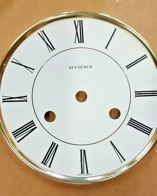 Hermle-Westminster clock dial  150 mm for 141-140 movement solid brass Arabic