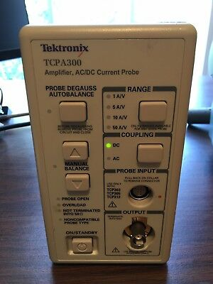 TCPA300 Tektronix AC/DC Current Probe Amplifier