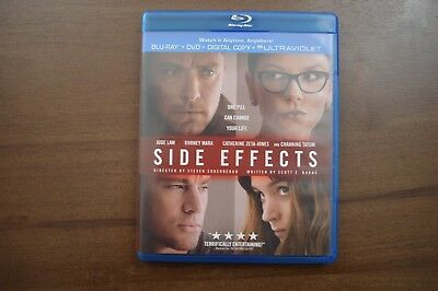 Side Effects (Blu-ray Disc only, 2013) No digital copy