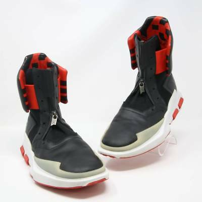 837a61e6fde8b Y-3 Y3 BLACK and Red Adidas 2016 Noci 0003 High-top Sneaker sz 7.5 ...