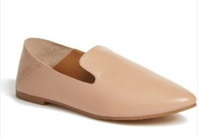 15ae0451804 HALOGEN SYLVIA WOMEN S Loafer Flat - Nude Leather - Size 9.5 - NEW ...