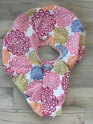 Itzy Ritzy Infant Carrier Peek A Boo Pod- Floral- Pink