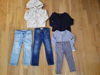 Girls Jeans Leggings Tops Outfits size 3 years LOT of 6 GAP