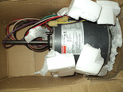 Dayton 3M769 3/4 Hp Motor , 1075 , Rpm, 208-230 V ,  48Yz Fr , 1 Ph , 2 Speed