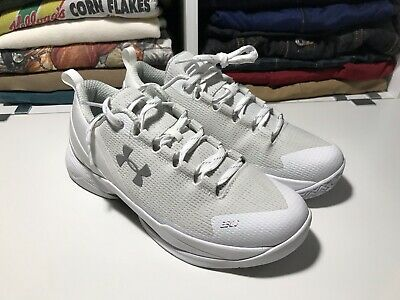721b29bf1e60 UNDER ARMOUR BGS Curry 2 Low SZ 5.5Y White Genuine 1275082-100 ...