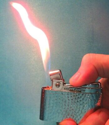 """Collectable Vintage French Silver Match """"Compound"""" Lighter."""