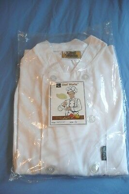 94fb3c55c NEW IN PACKAGE Cintas Chef Jacket White Uniform Sz 36 -  19.99 ...