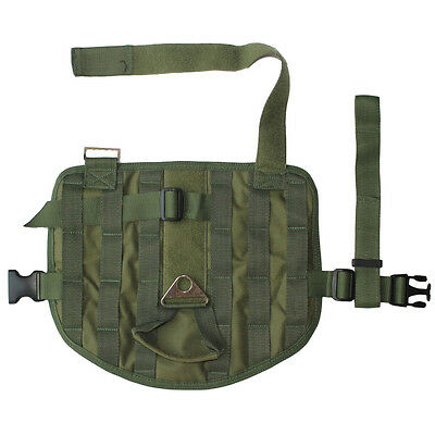 Tactical Police Dog Military Compact Vest Service Dog Molle Harness 3 Sizes