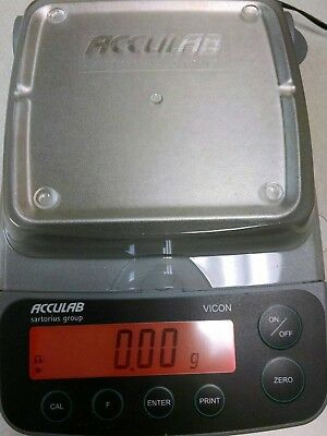Sartorius Acculab VIC 412  Centigram balance (410 g) Never used