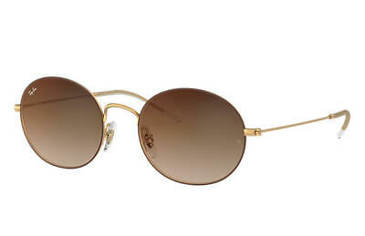 dceb3a79d Ray Ban Beat Sunglasses RB3594 9115S0 53MM Gold/Brown Brown Gradient Mirror  Lens