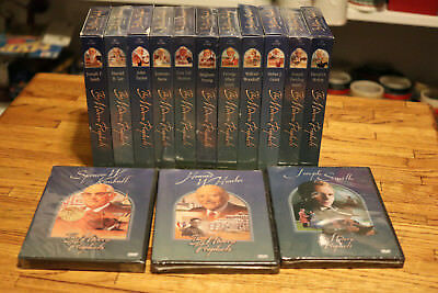 Full Set of 14 - The Modern Prophets - 11 Vhs tapes 3 Dvds 8 Brand new 6 Used