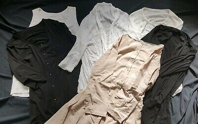 Ladies White Winter Clothing Bundle -  Blouse Top, Vest, Cardigan Jacket Size 18
