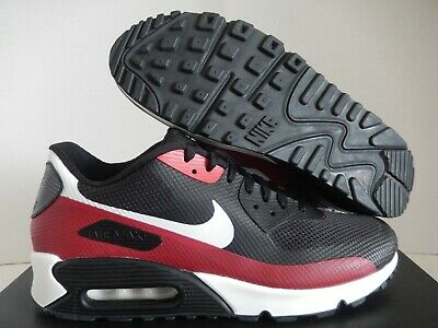 NIKE MEN'S AIR Max 90 HYP Hyperfuse ID Shoes Solar Red SZ 10