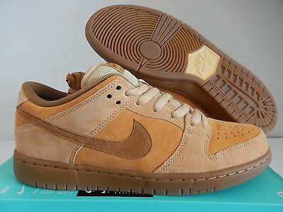 cheap for discount ec4cc 0630e NIKE DUNK LOW Brown Leather Laser Sz 12.5 2006 Spanish Moss Diamond ...
