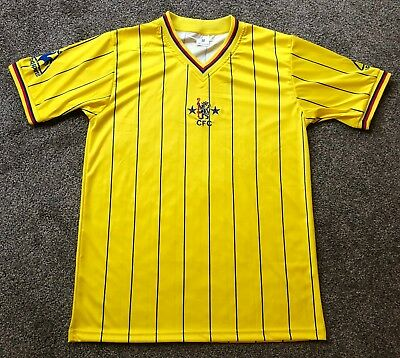 Retro Chelsea 1981-1983 Away Shirt ALL SIZES/SLEEVES